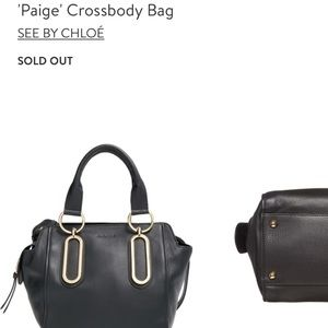 Gorgeous See by Chloe Leather shoulder bag 🖤